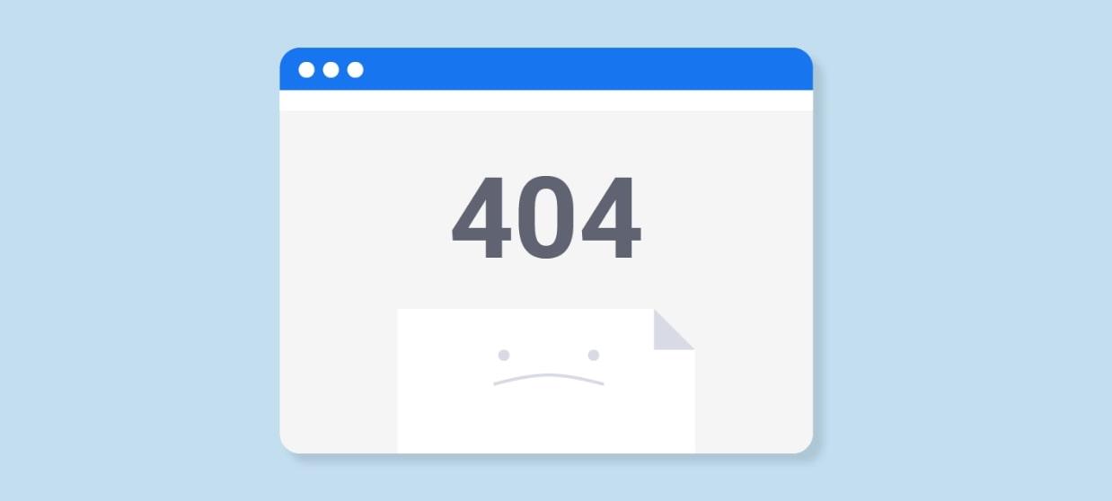 404 ссылки